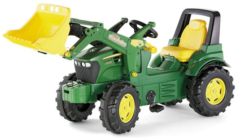 Rolly Toys - šlapací traktor s čelním nakladačem John Deere 7930