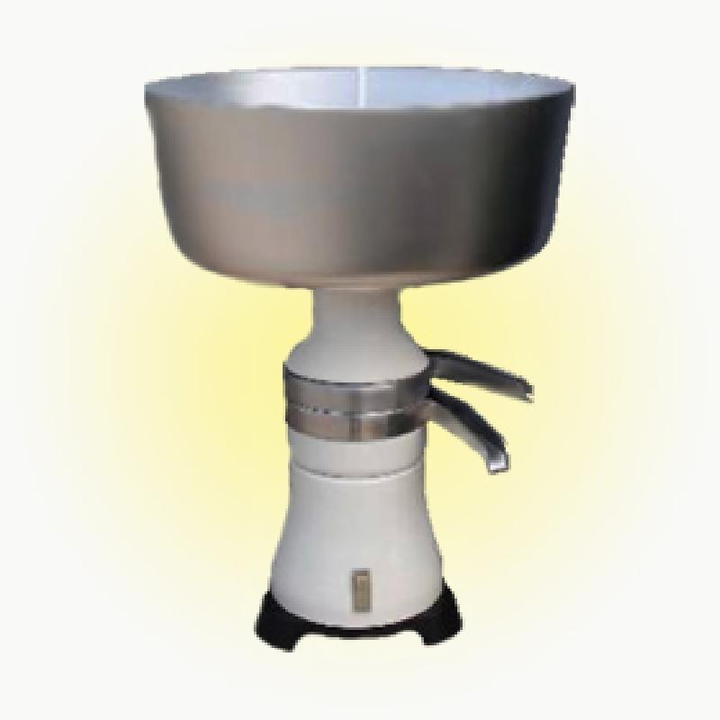 Elektrická odstředivka mléka SCM 80 kapacita 100 l za hodinu celokovová