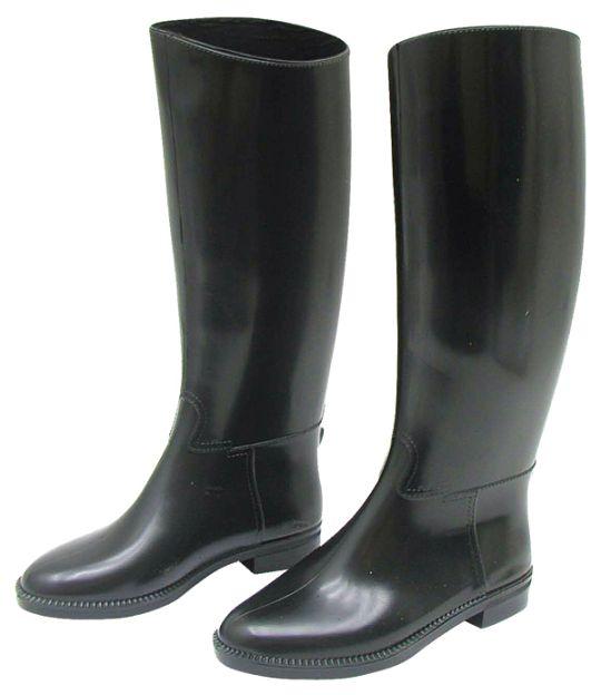 Dětské vysoké jezdecké boty velikost 32 černé