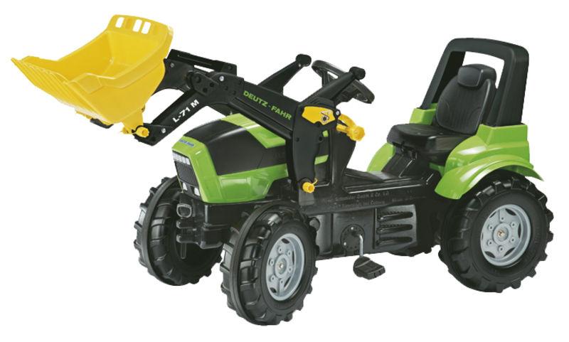 Rolly Toys - šlapací traktor s čelním nakladačem Deutz Agroton Lader
