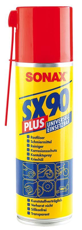 Sonax SX90 Plus 300 ml - odrezovač, mazivo a kontaktní sprej