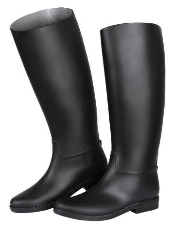 Vysoké jezdecké boty pro dospělé Ascot velikost 42 černé