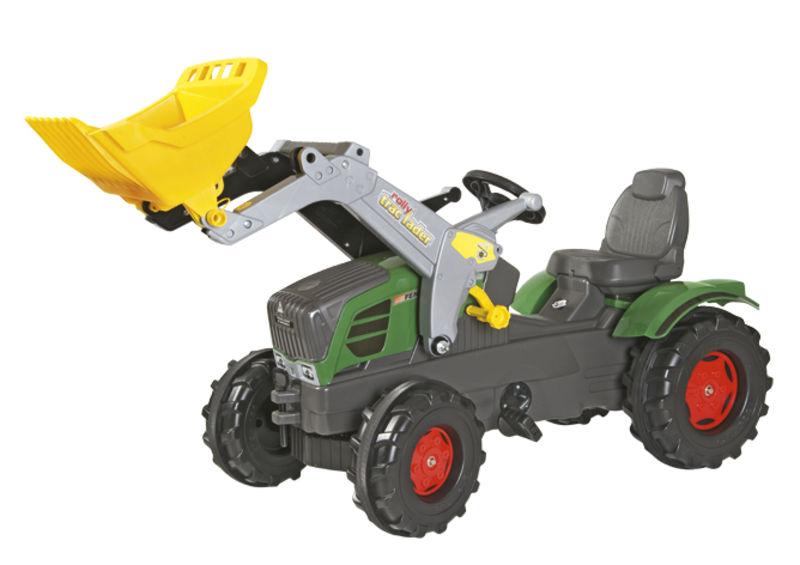 Rolly Toys - šlapací traktor s čelním nakladačem Fendt 211 Vario