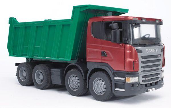 Bruder - nákladní auto Scania R se sklápěčkou