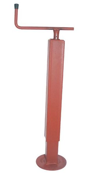 Opěrná noha pod návěs Simol nosnost 1000 kg s vodorovnou klikou