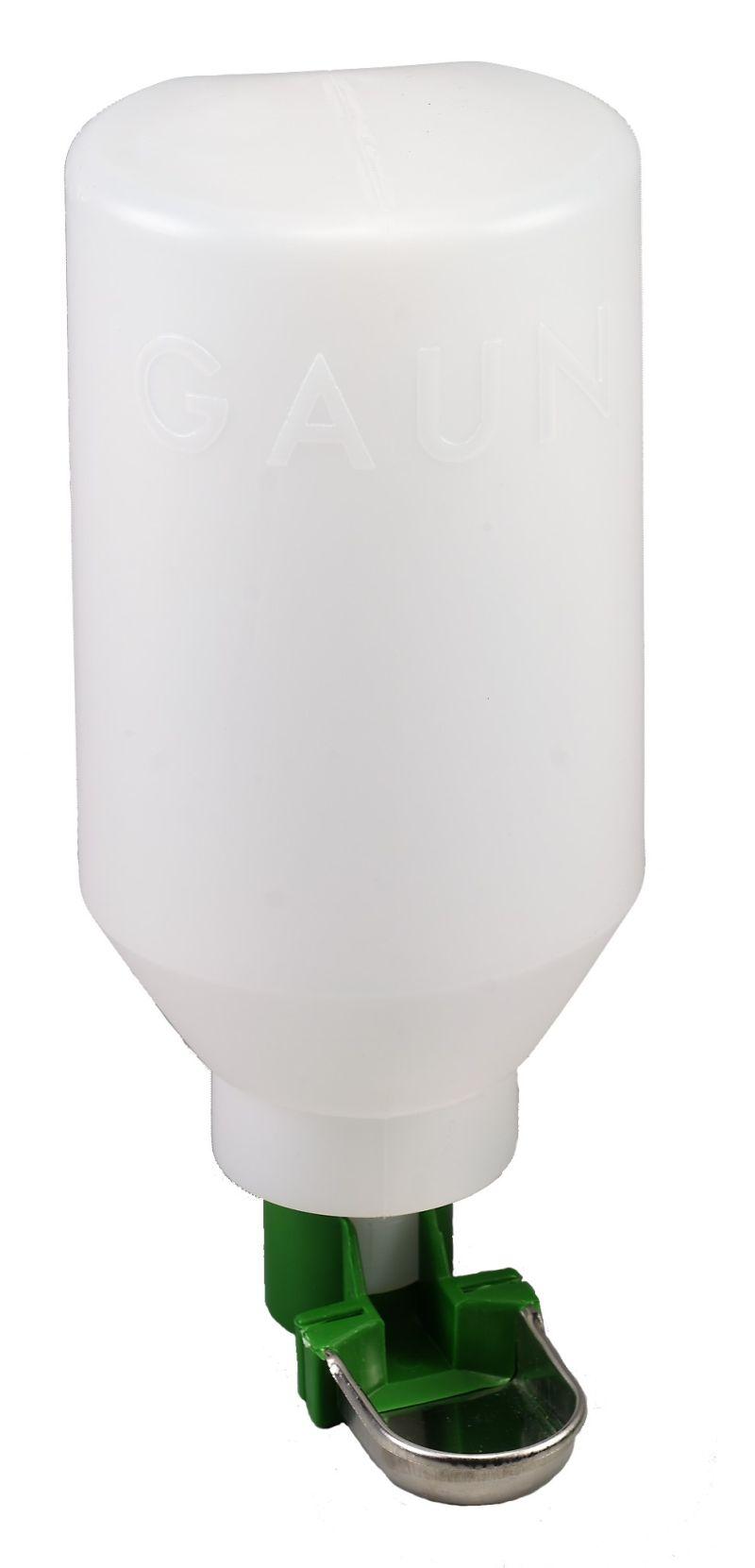 Napáječka hladinová s plastovou láhví 2 l pro ptactvo a malá zvířata