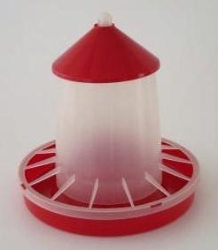Závěsné krmítko pro drůbež plastové 6 kg