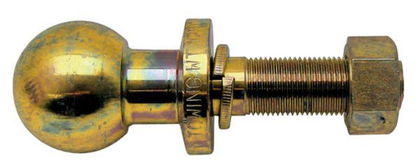 Kolík s kulovou hlavou K50 pro spodní závěs třetího bodu pro tažnou lištu závit 1 UNF