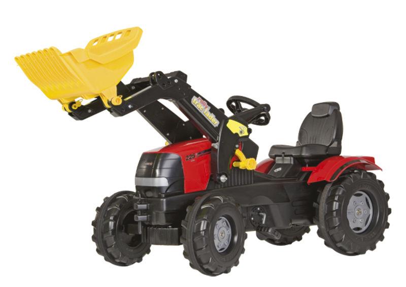 Rolly Toys - šlapací traktor s čelním nakladačem Case Puma CVX 225