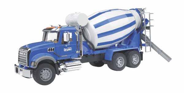 Bruder - betonový mix Mack Granite
