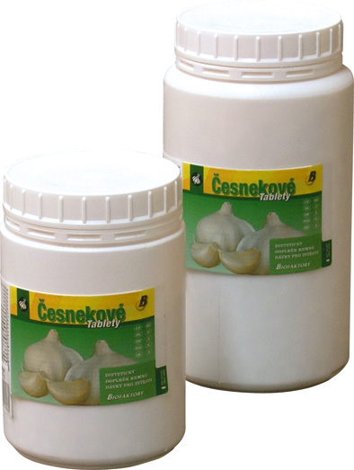 Nutri Horse Česnekové tablety pro koně 1 kg
