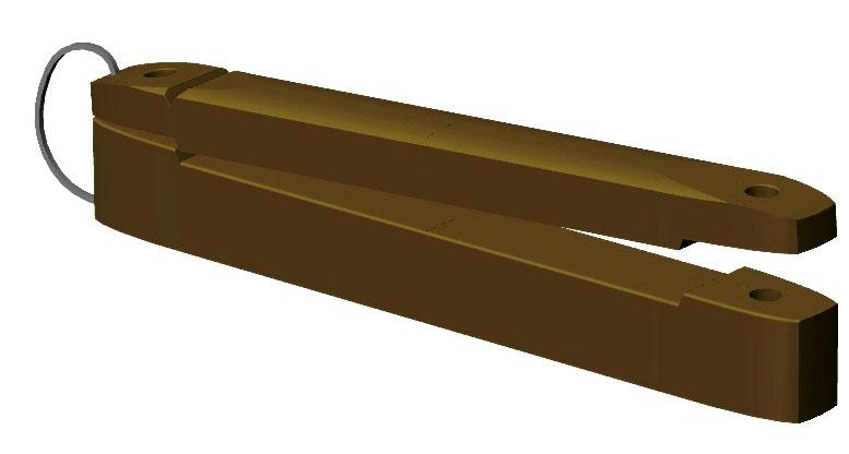 Izolátor pro extra širokou pásku 100 mm