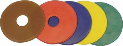 Kroužky na udidlo gumové velikost 9 cm pár