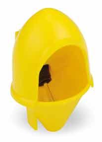 Horní poklop Hood jako ochrana pro napájecí misku pro křepelky, ptactvo a malá zvířata