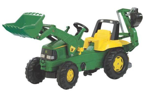 Rolly Toys - šlapací traktorbagr John Deere