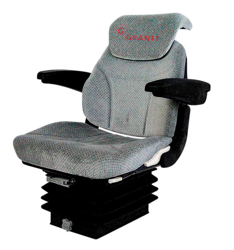 Traktorová sedačka Granit Super-komfort vzduchové odpružení 12 V