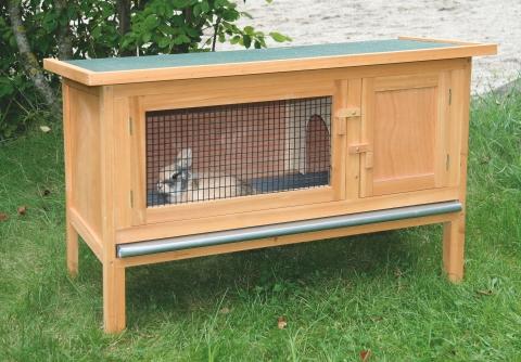 Králíkárna Fred - kotec pro králíky, morčata a malé hlodavce