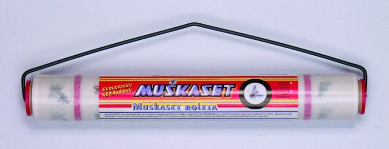 Stájová mucholapka MUŠKASET role 5 m x 30 cm