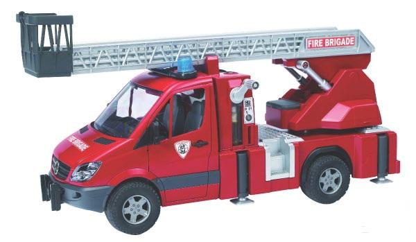 Bruder - Mercedes-Benz Sprinter hasičský vůz