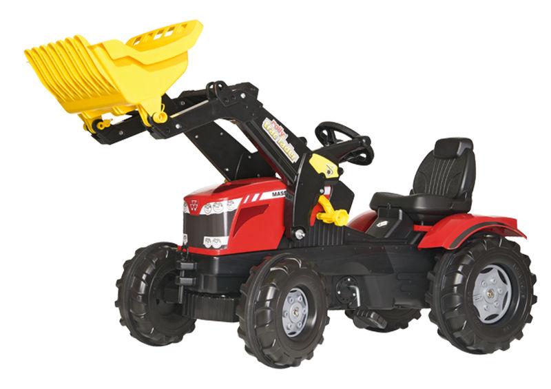 Rolly Toys - šlapací traktor MF 8650 s čelním nakladačem