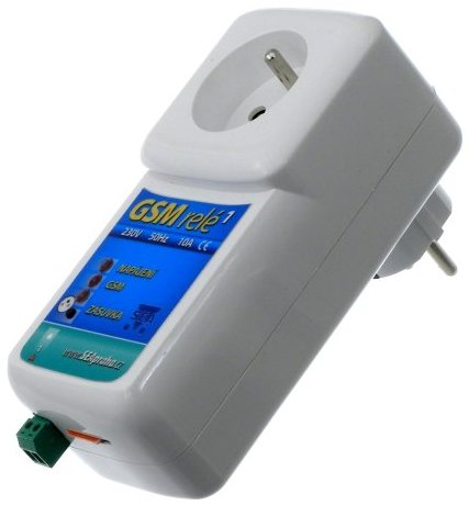 GSM relé R1 ZAS na hlídání elektrického ohradníku, zapínání topení a ovládání spotřebičů