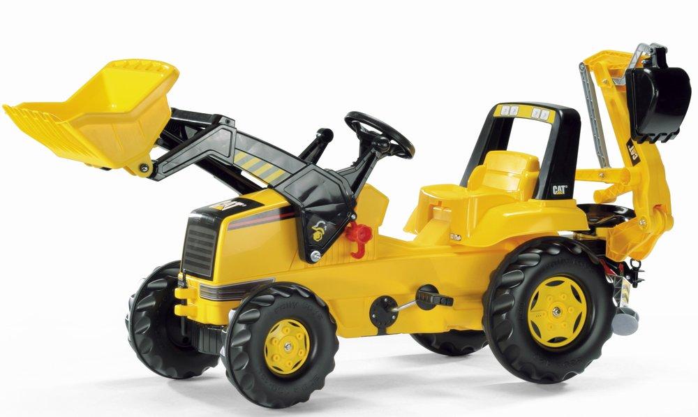 Rolly Toys - šlapací traktorbagr CAT