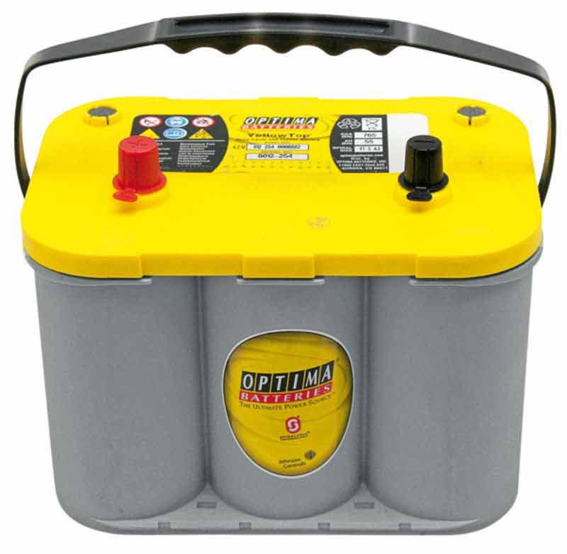 Startovací baterie Optima