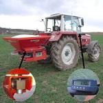 Váhy pro rozmetadla hnojiv