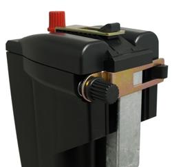 Bateriový zdroj SG 3 propojení se zemnící tyčí