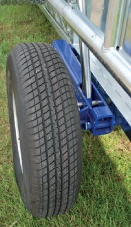 Kompletní kolo, rezerva pneu 195/70x14 (25 km/h) pro mobilní fixační klec PASDELOU