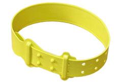 Krční plastová páska pro ovce a kozy žlutá