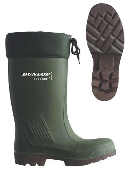 Teplé holínky Dunlop Thermoflex s ocelovou špičkou velikost 43