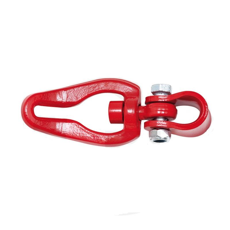Kluzný třmen otočný na lano pro řetězy 7 + 8 mm tažná síla 40 kN