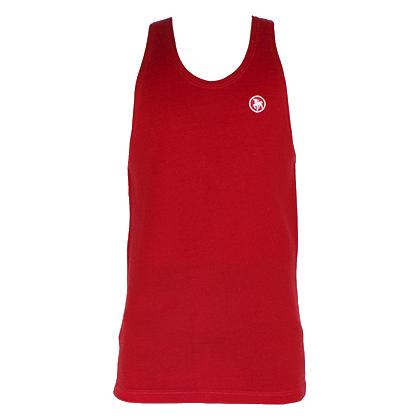 Prodloužené vlněné tílko Kairanga pro střihače ovcí tmavě červený velikost L