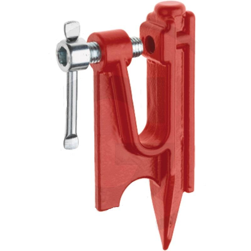 Svěrák lišty Comfort s jedním hrotem pro broušení pilových řetězů v terénu