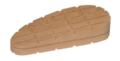 Fotografie Dřevěný špalek na paznehty šikmý 130 mm velký