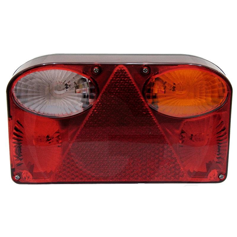 Zadní světlo 4-komorové pravé 12V koncové, brzdové a směrové, osvětlení SPZ a zadní světlo