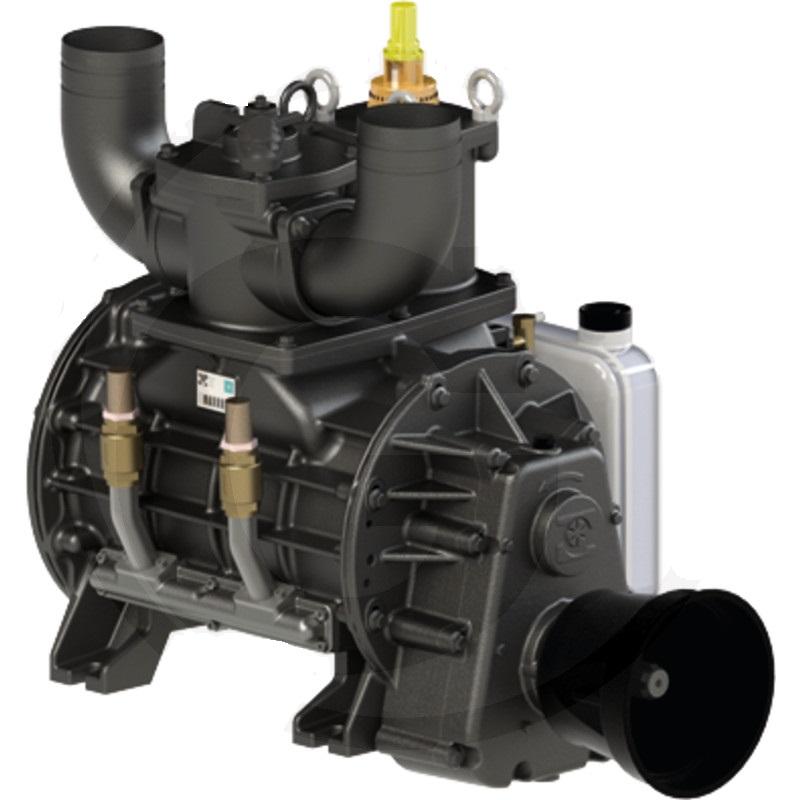Vývěva na fekál B&P BALLAST 16000, kompresor s olejovým čerpadlem kapacita 15210 l/min