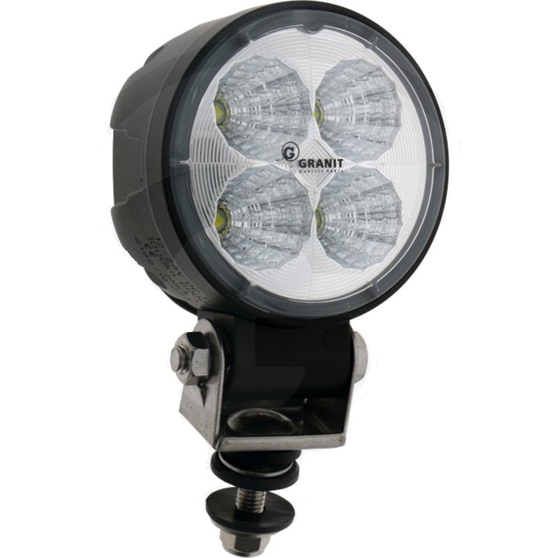 LED pracovní světlo kulaté 4 LED 12V a 24V