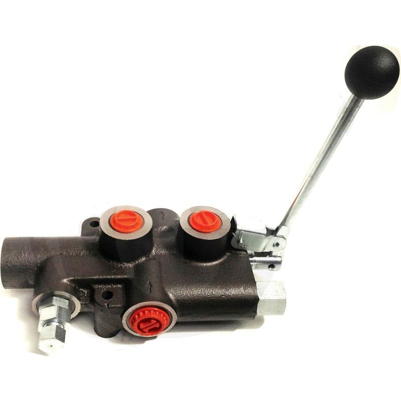 Hydraulický monoblokový ventil pro štípačku P81 A3 G
