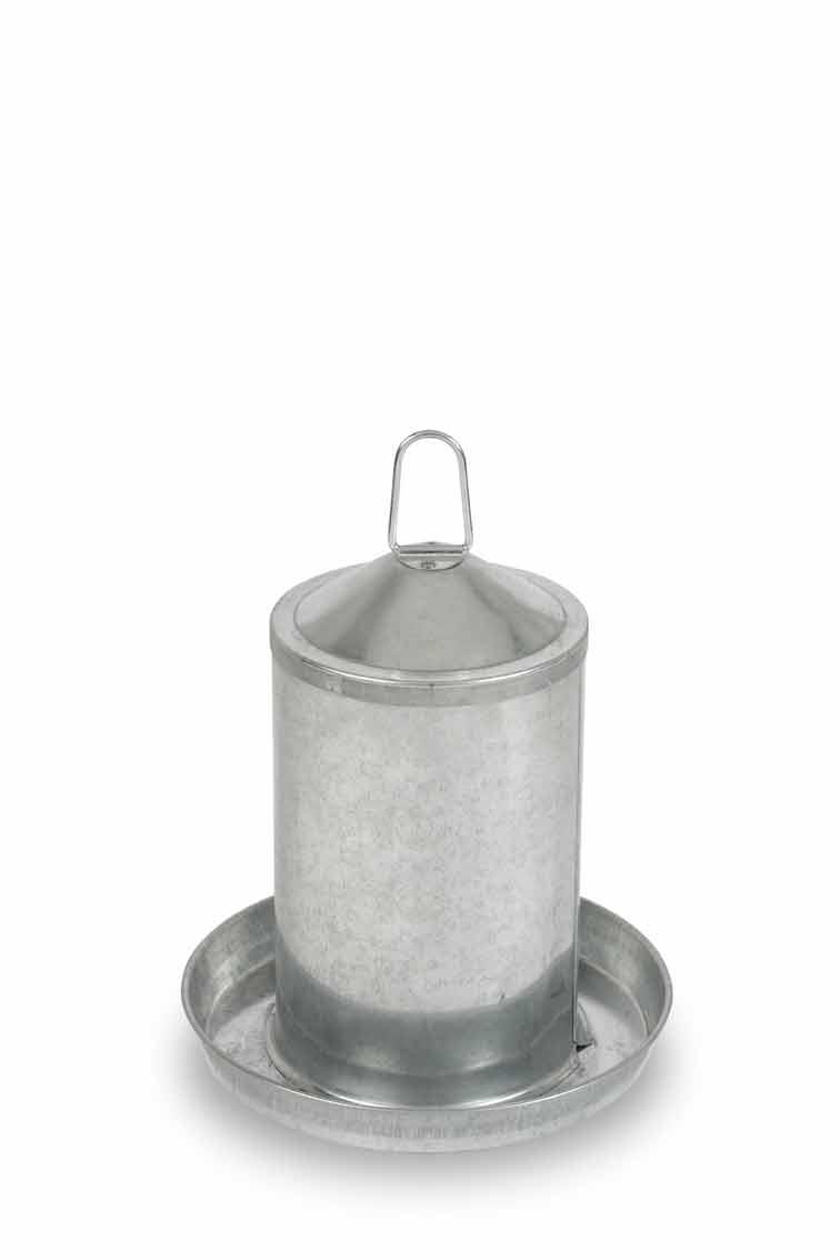 Napáječka kovová Gaun pro drůbež 5 l