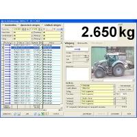 Ovládací software pro přejezdovou váhu AGRETO