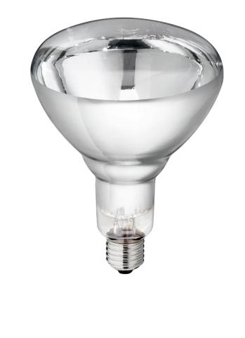 Topná infra žárovka bílá 150 W