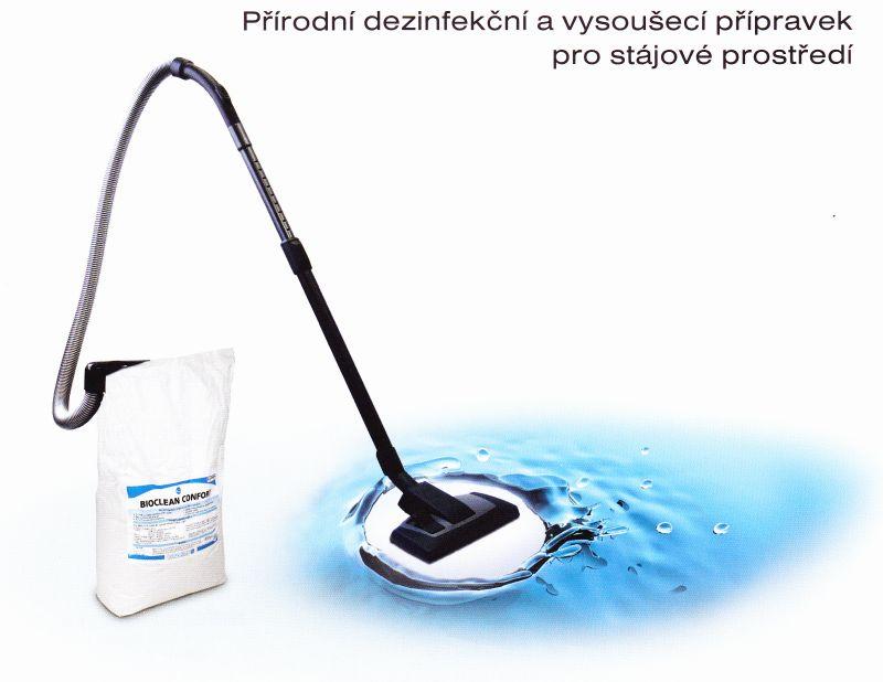 Bioclean Confort 25 kg přírodní dezinfekční a vysoušecí přípravek pro stájové prostředí
