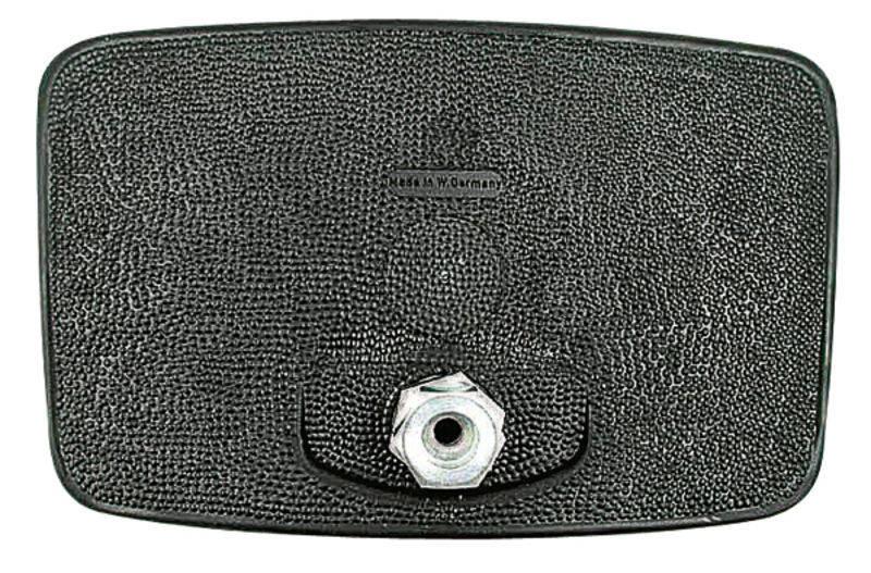 Zpětné zrcátko Mekra vhodné pro Case IH nevyhřívané černé 240 x 158 mm