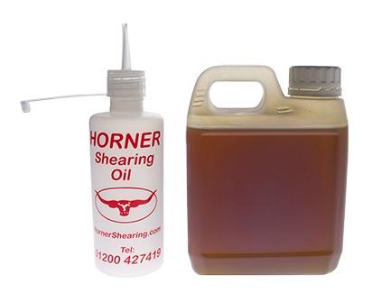 Horner Shearing Oil olej na stříhací strojky pro ovce 1 l
