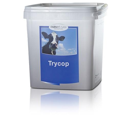 Farm-O-San TRYCOP 150 g ke zvýšení imunity pro přežvýkavce telata, kůzlata, jehňata