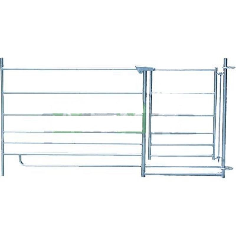 Ovčí ohradní panel s brankou 183 cm se spojovacím kolečkem