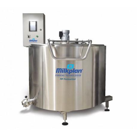 Paster na mléko Milkplan MP 1000 l včetně topného panelu 48 kW a ovládacího panelu
