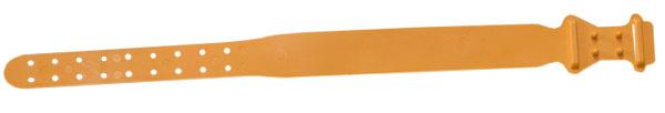 Krční plastová páska pro ovce a kozy oranžová